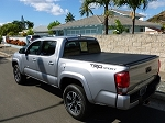 2016 Toyota Tacoma 6' Bed Double Cab with Rails Tonneau Cover